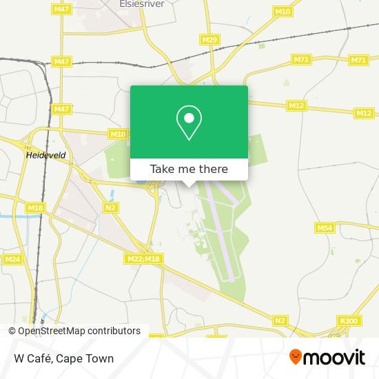 W Café map