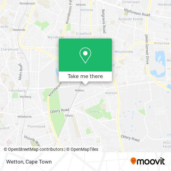 Wetton map