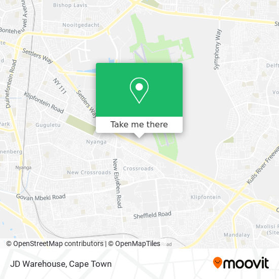 JD Warehouse map
