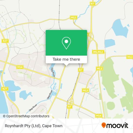 Roynhardt Pty (Ltd) map