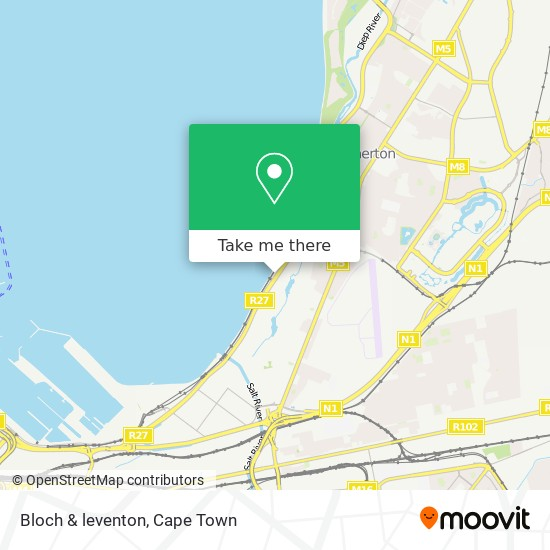 Bloch & leventon map