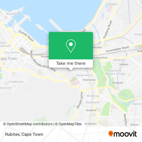 Rubitex map
