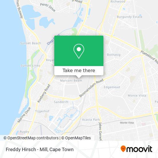 Freddy Hirsch - Mill map