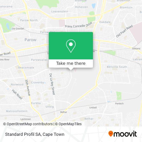 Standard Profil SA map