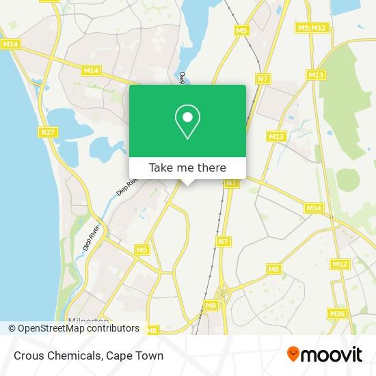 Crous Chemicals map