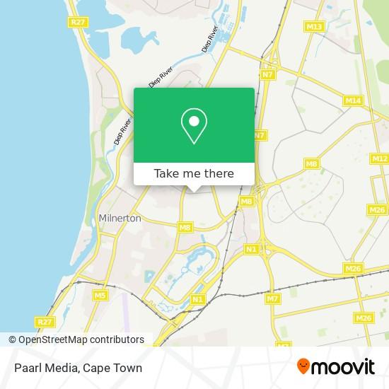 Paarl Media map
