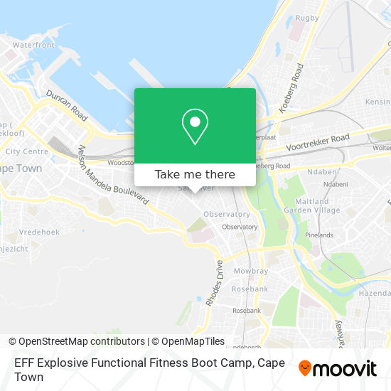 EFF Explosive Functional Fitness Boot Camp map