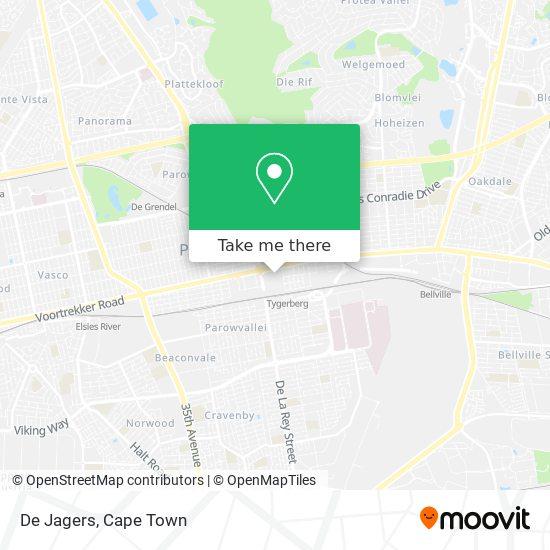 De Jagers map