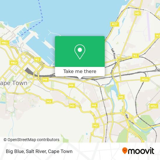 Big Blue, Salt River map