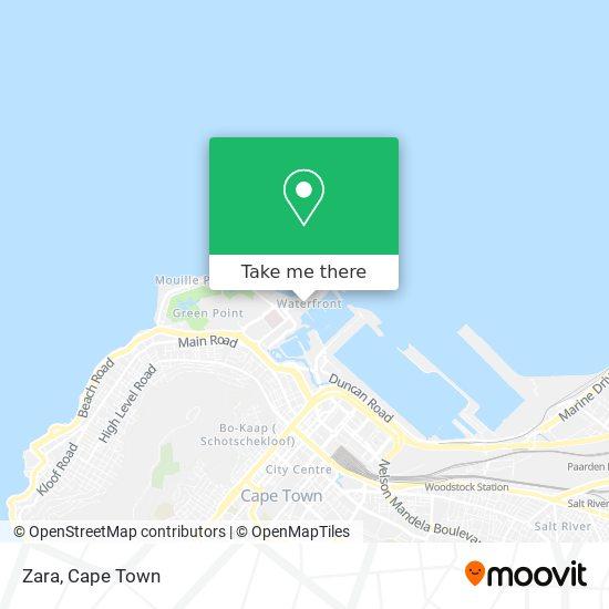 Zara map