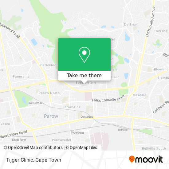 Tijger Clinic map