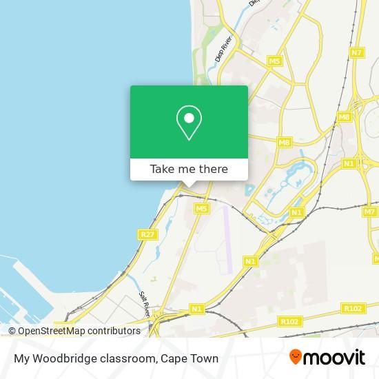 My Woodbridge classroom map