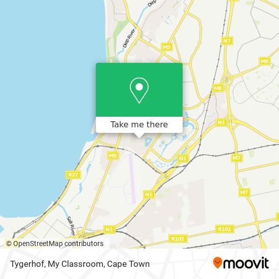 Tygerhof, My Classroom map