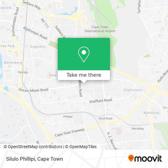 Silulo Phillipi map