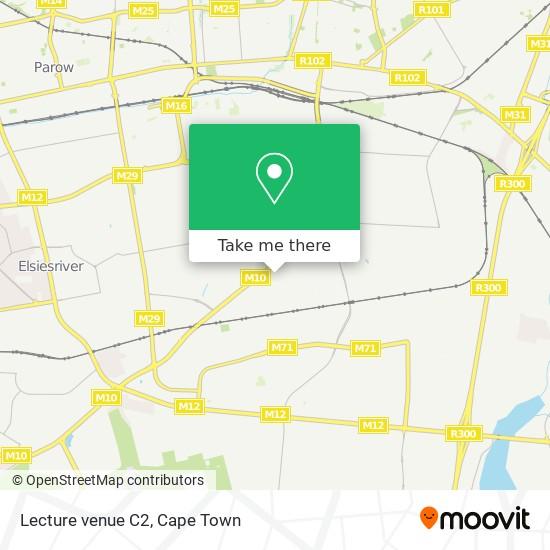 Lecture venue C2 map