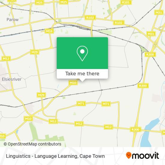 Linguistics - Language Learning map