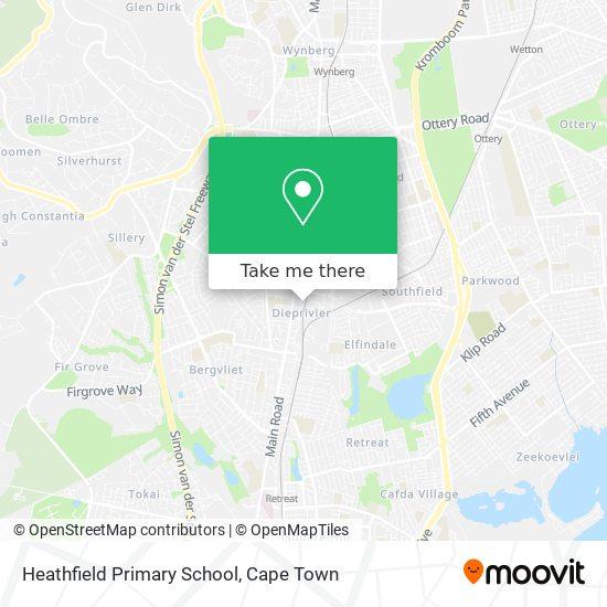 Heathfield Primary School map