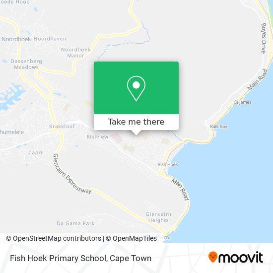 Fish Hoek Primary School map