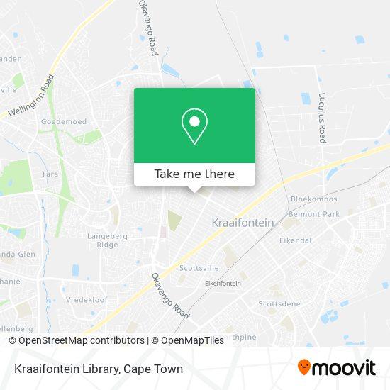 Kraaifontein Library map
