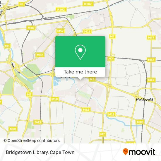 Bridgetown Library map