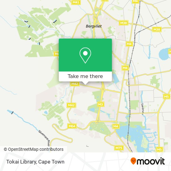 Tokai Library map