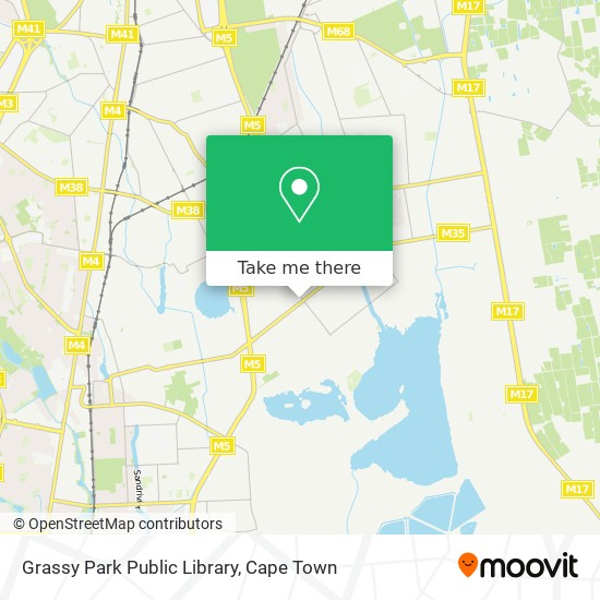 Grassy Park Public Library map