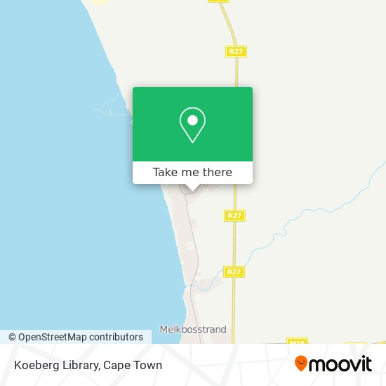 Koeberg Library map