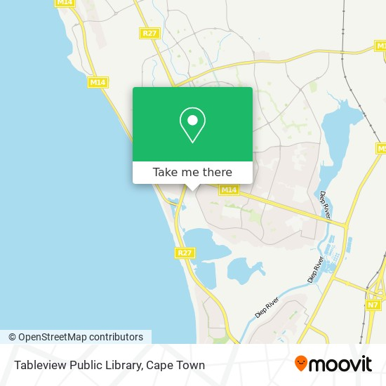 Tableview Public Library map