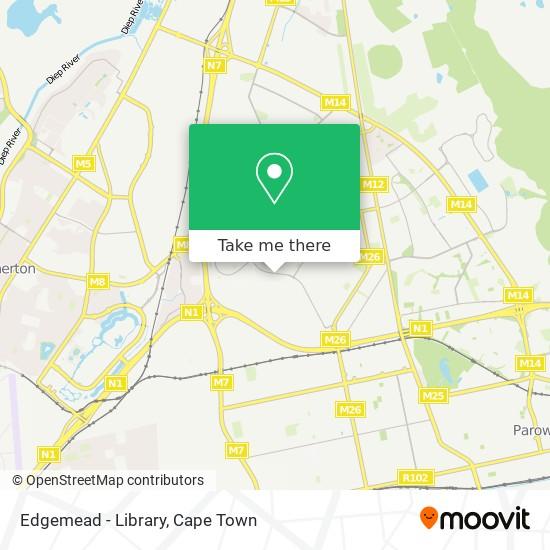 Edgemead - Library map