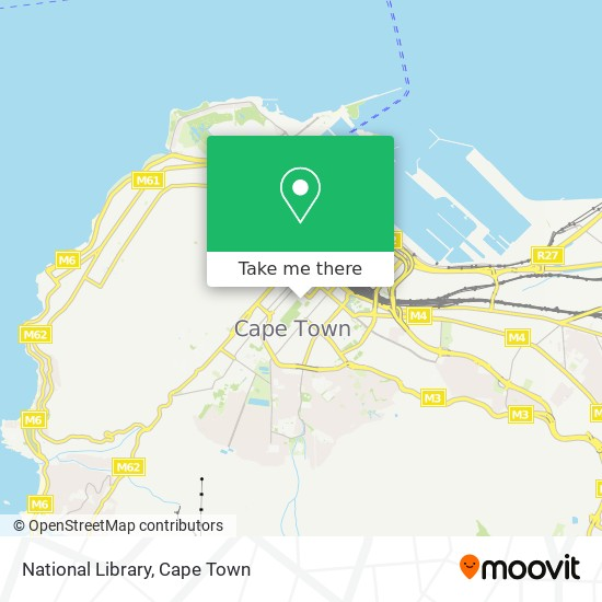 National Library map