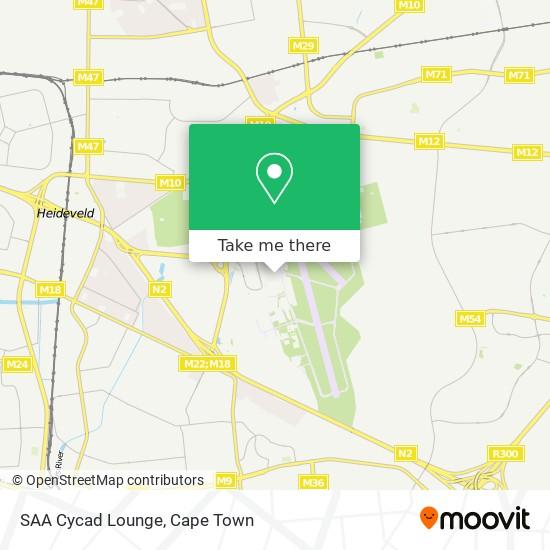 SAA Cycad Lounge map