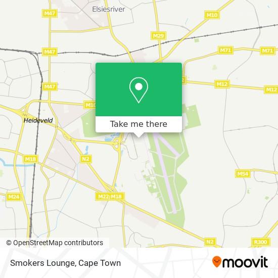Smokers Lounge map