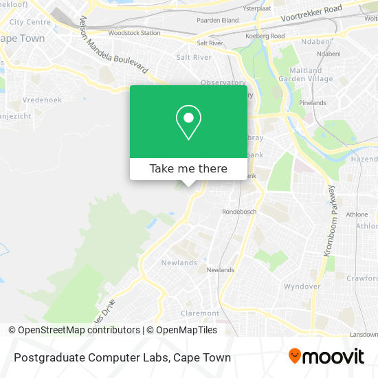 Postgraduate Computer Labs map