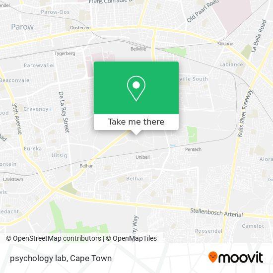 psychology lab map