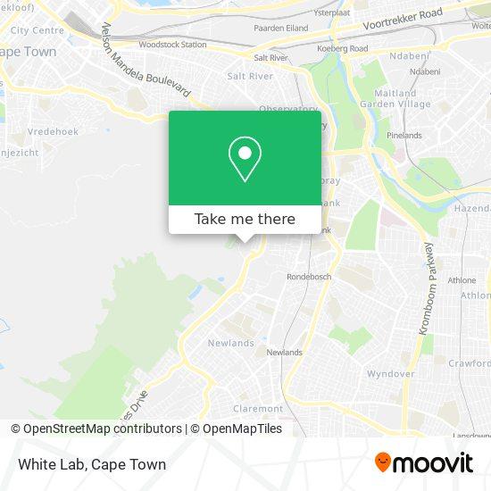 White Lab map