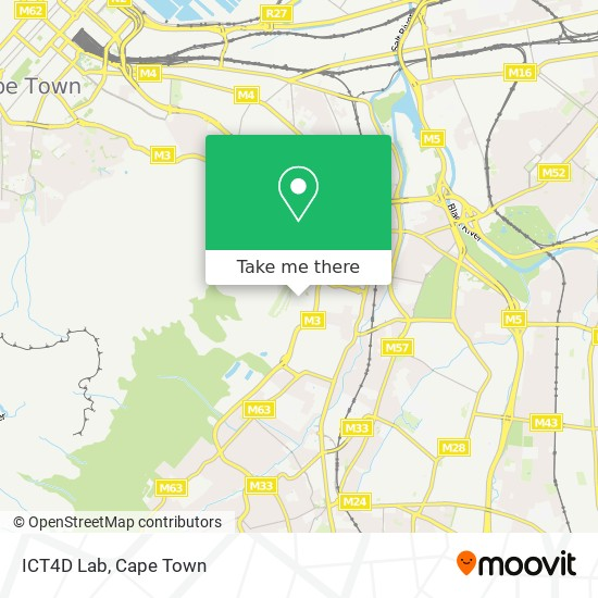 ICT4D Lab map