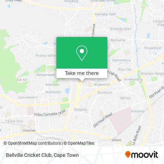 Bellville Cricket Club map