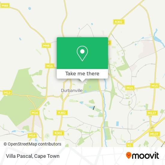Villa Pascal map