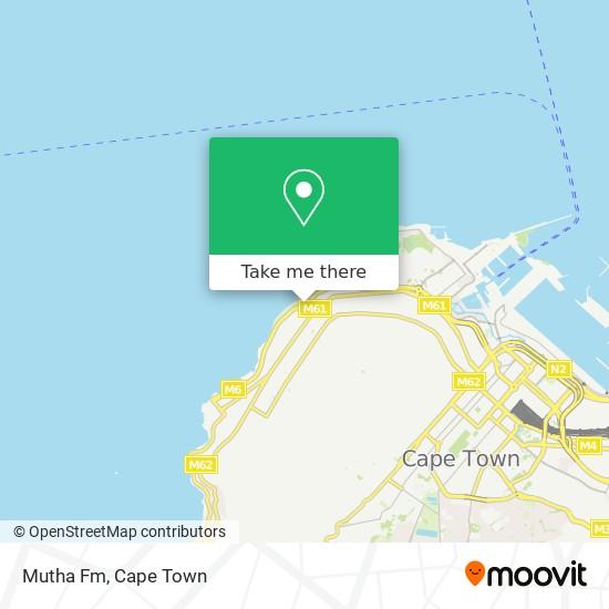 Mutha Fm map