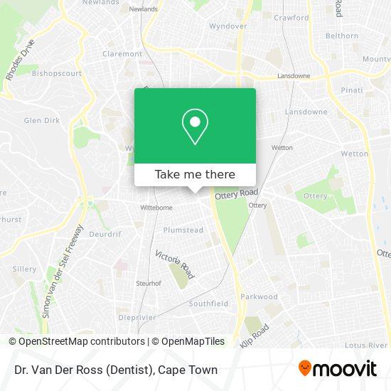 Dr. Van Der Ross (Dentist) map