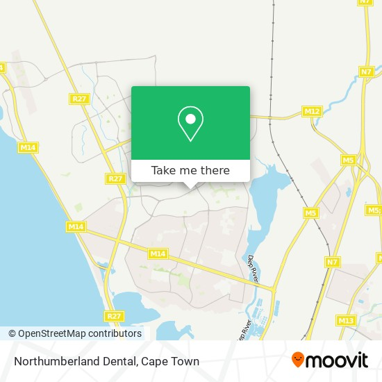 Northumberland Dental map