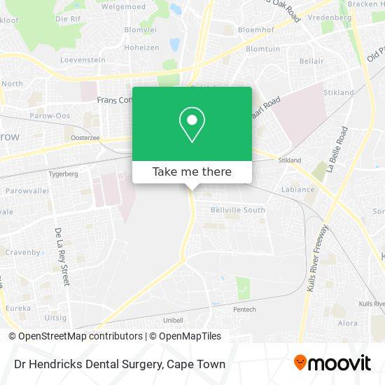 Dr Hendricks Dental Surgery map
