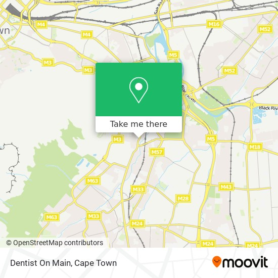 Dentist On Main map