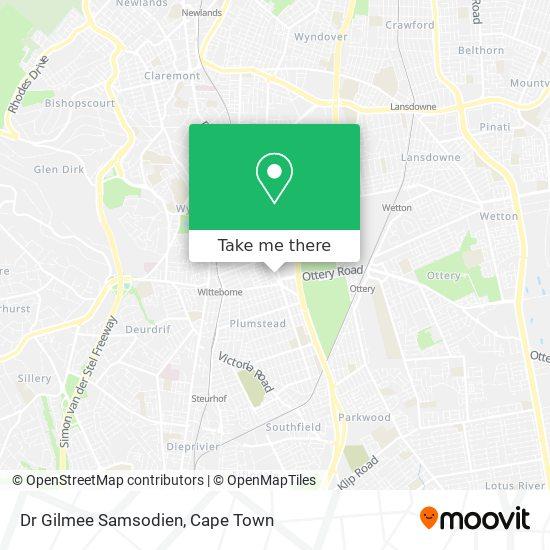 Dr Gilmee Samsodien map