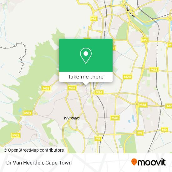Dr Van Heerden map