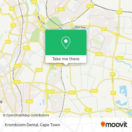 Kromboom Dental map