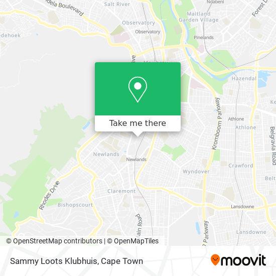 Sammy Loots Klubhuis map
