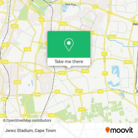 Jwwc Stadium map