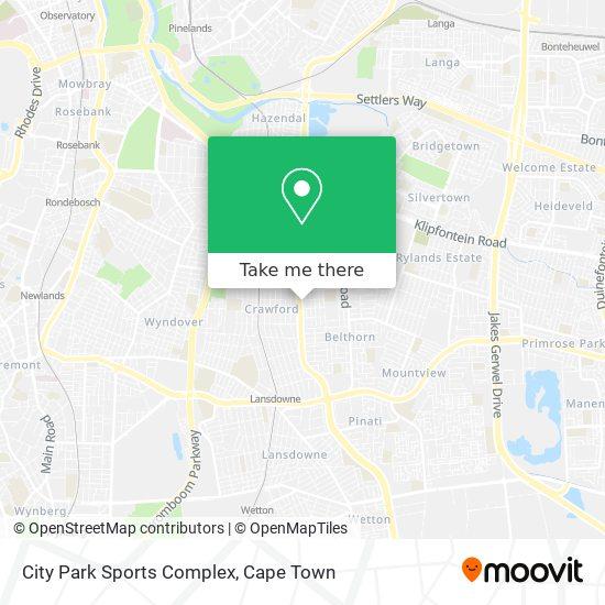 City Park Sports Complex map