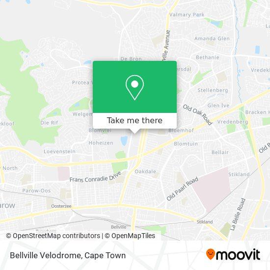 Bellville Velodrome map